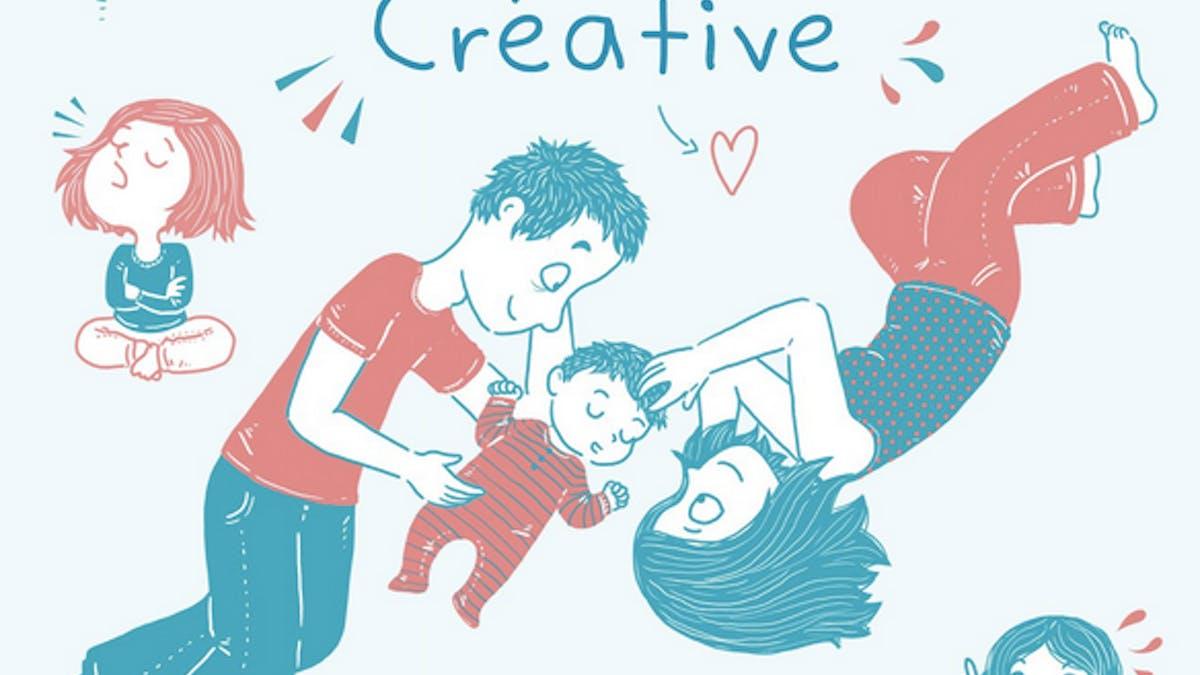 livre parentalité créative