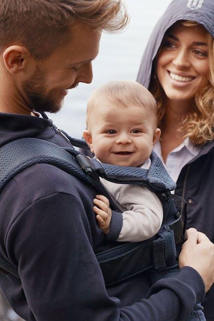 Porte-bébé ONE AIR Bleu marine