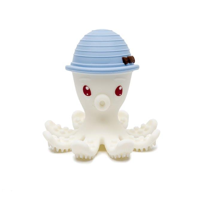 Bonnie la pieuvre en bleu céleste