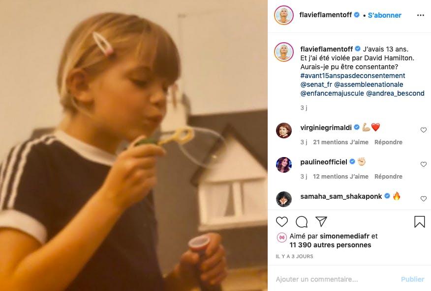 Flavie Flament : femme engagée à l'enfance brisée