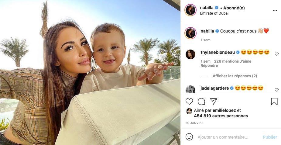 Nabilla et Milann : telle mère, tel fils