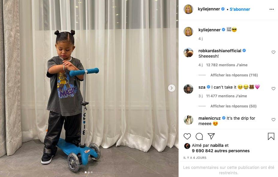 Kylie Jenner : Stormi, faut pas trop la chercher