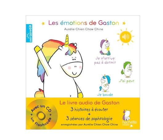 Les Emotions de Gaston - le livre audio