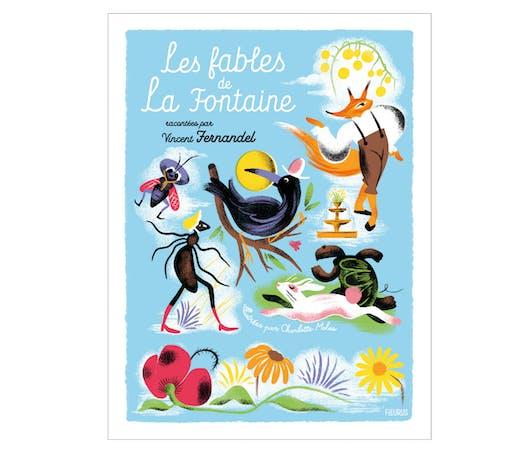 """#Livre Audio """"Les Fables de la Fontaine"""" racontées par Vincent Fernandel"""