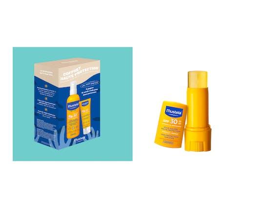 Le coffret solaire haute protection - Mustela