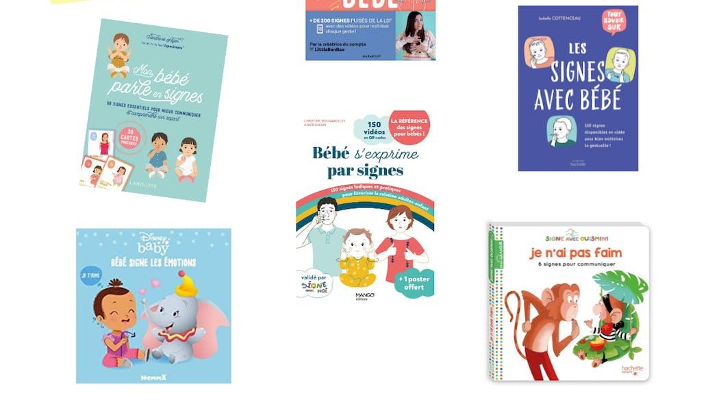 Signer avec son enfant : 8 livres et fiches pratiques
