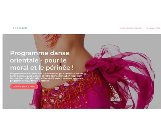 Programme danse orientale