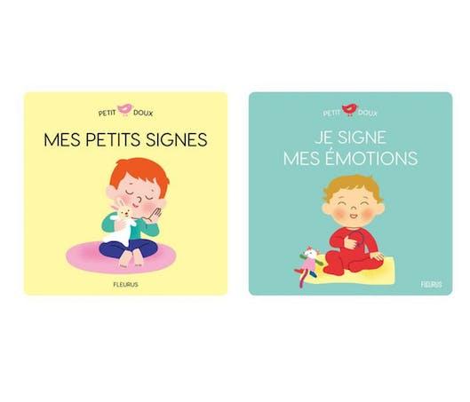 """Petit Doux : """"Mes petits signes"""" et """"Je signe mes émotions"""""""