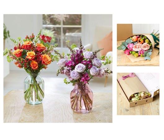 Un bouquet de fleurs tous les mois