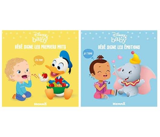 Disney Baby - Bébé signe les premiers mots  et Bébé signe les émotions