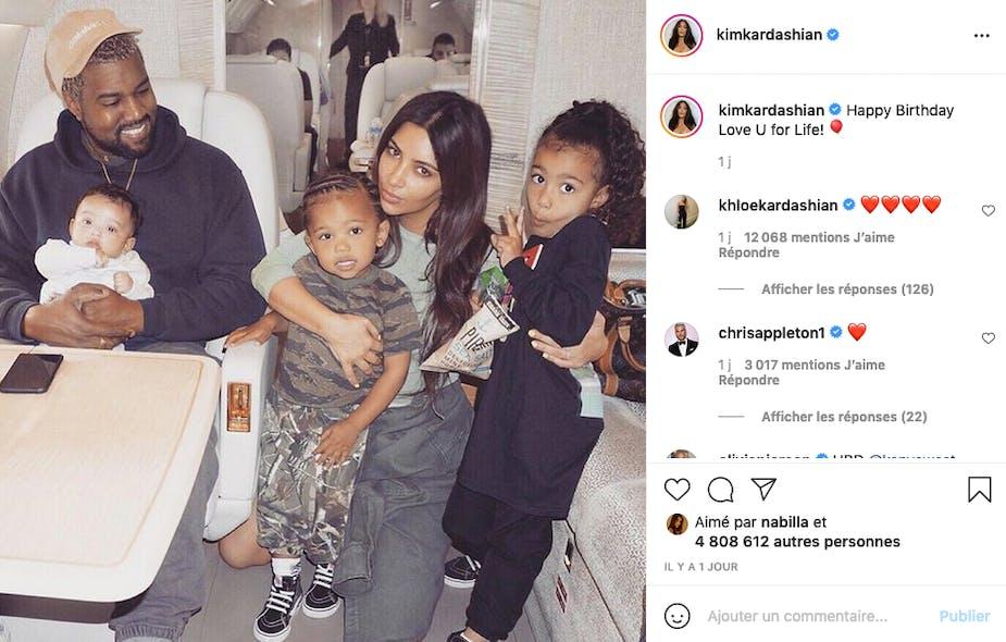 Kim Kardashian n'a pas oublié l'anniversaire de son ex Kanye West, l'amour de sa vie