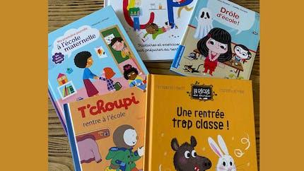 Rentrée scolaire 2021-2022 : des livres pour en parler avec son enfant