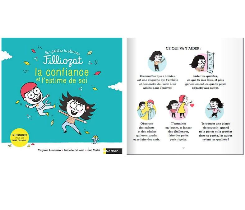 #LIVRES ENFANTS La confiance et l'estime de soi - 3 Histoires pour les faire grandir