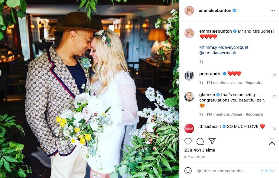 Emma Bunton : Baby Spice s'est mariée !