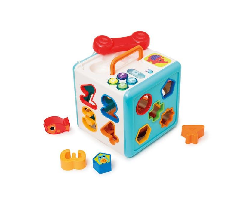 Cube sonore et lumineux Manibul