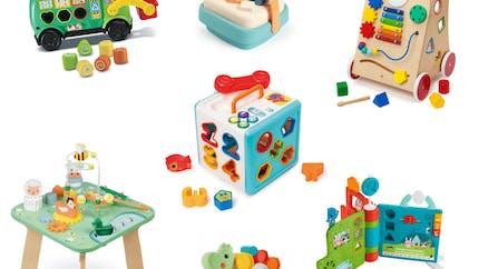 Jouets d'éveil pour bébé : notre sélection de jeux d'activités