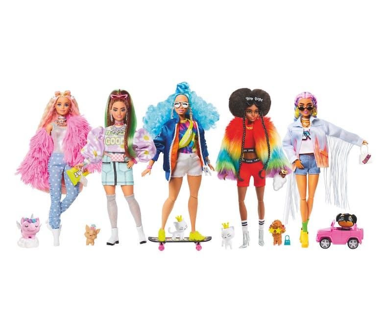 Le coffret de 5 poupées Barbie