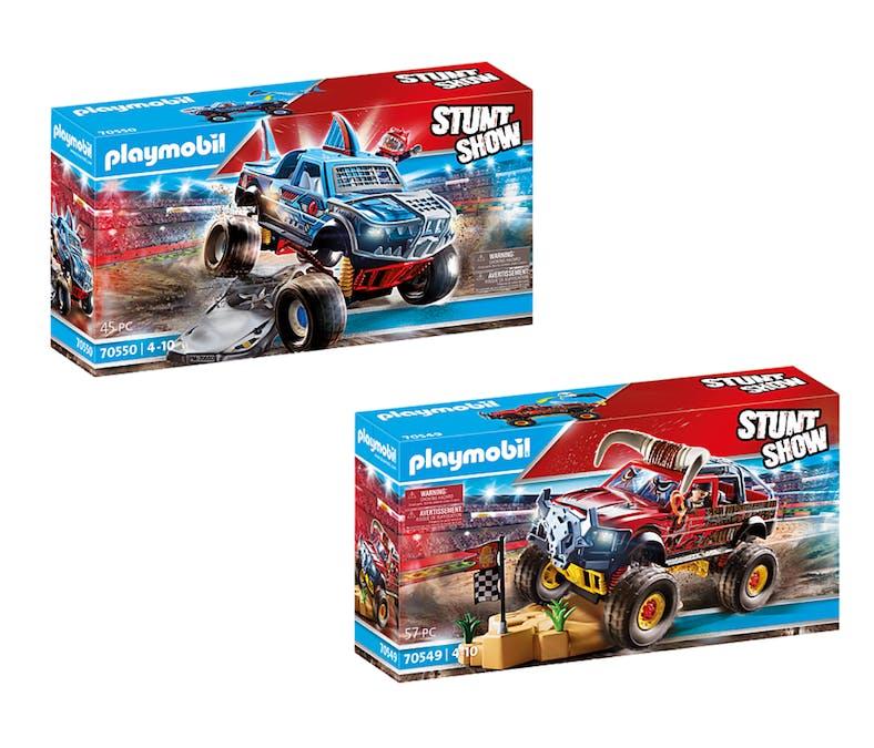 Les véhicules Stuntshow Monster truck de cascade