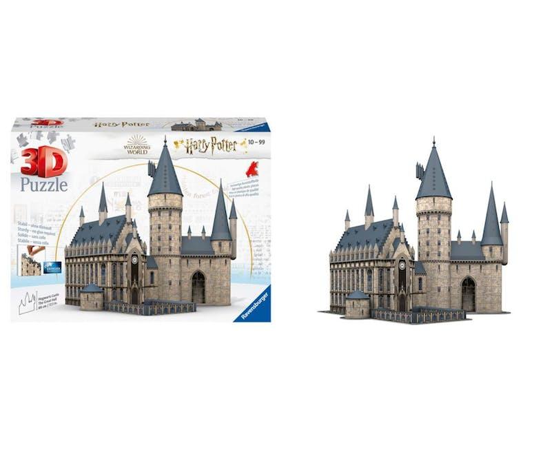 Le château de Poudlard - puzzle 3D