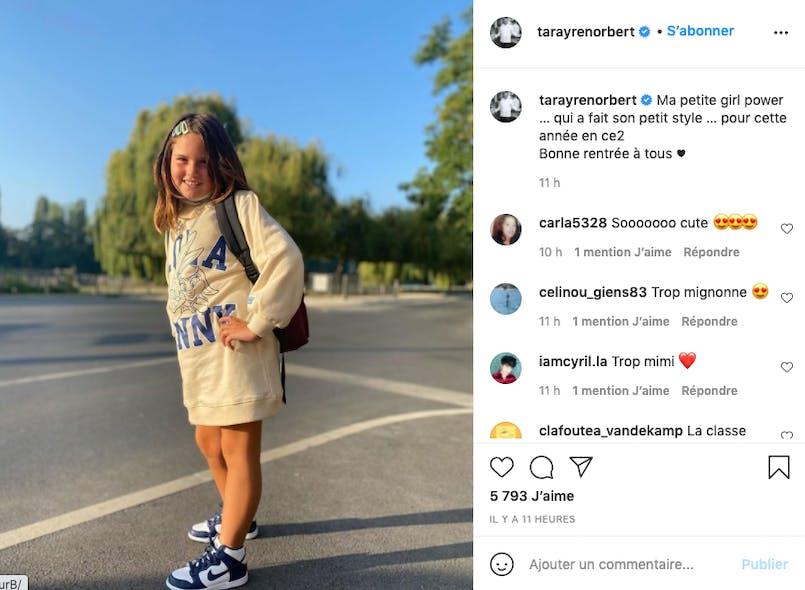 La fille de Norbert Tarayre a déjà son style bien à elle