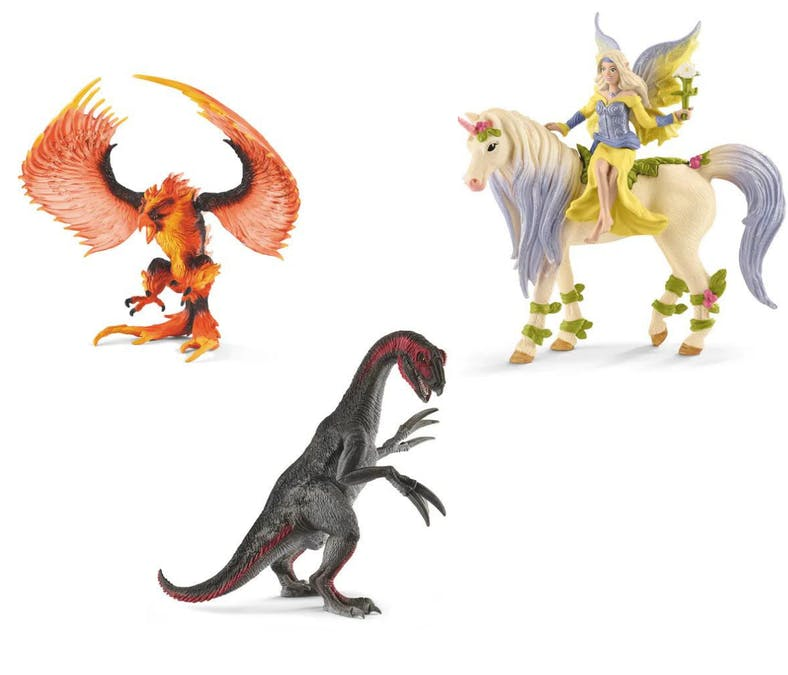 Les dinosaures et animaux fantastiques