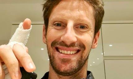 Famille : Romain Grosjean aux fourneaux pour sa femme et ses enfants