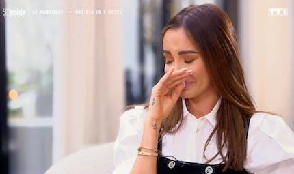 """Nabilla en larmes, """"pétrifiée"""" à l'idée de devenir maman"""