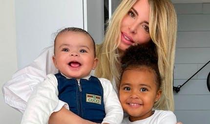 Les enfants d'Emilie Fiorelli et du footballeur M'Baye Niang, en manque de leur papa