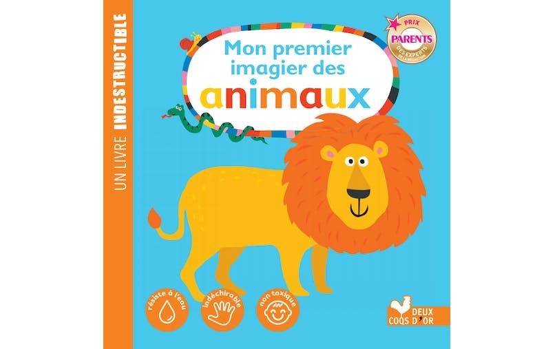 """Un livre indestructible """"Mon premier imagier d'animaux"""" d'HACHETTE LIVRE"""