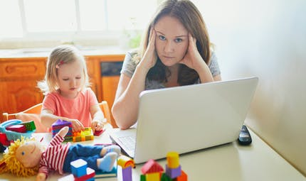 La vérité sur le télétravail avec des enfants
