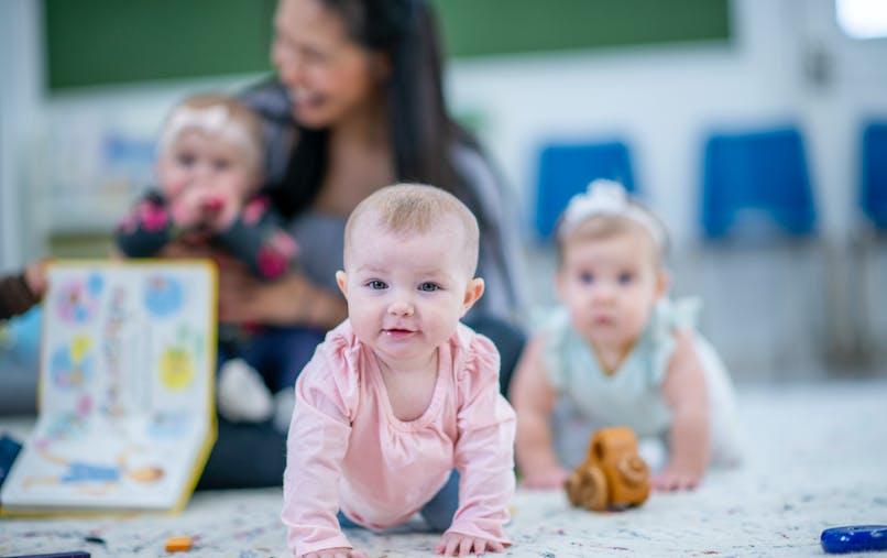 bébés chez une assistante maternelle