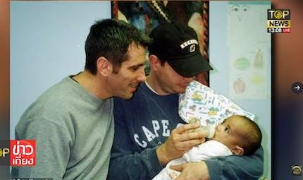La jolie histoire de ce couple qui a adopté un bébé trouvé dans le métro