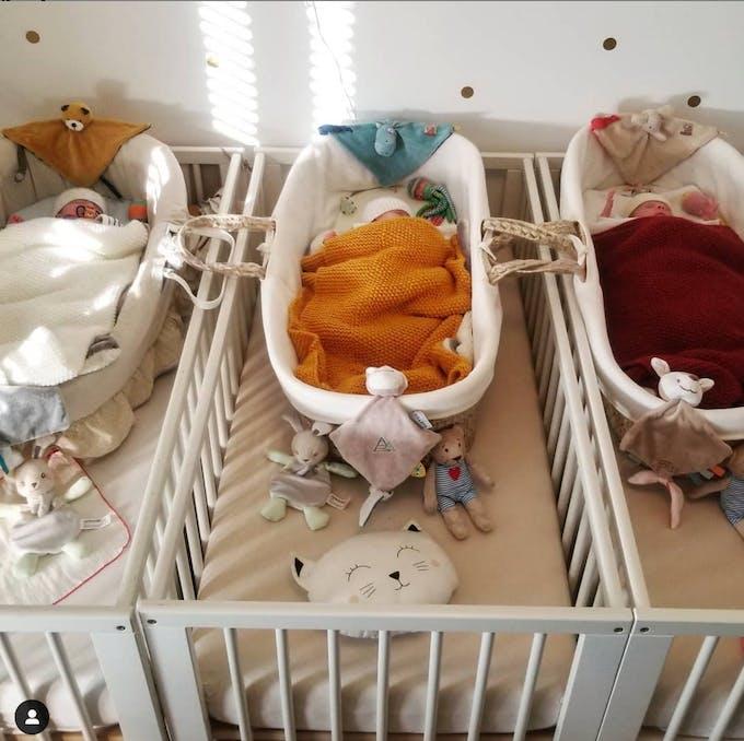 bébés triplés