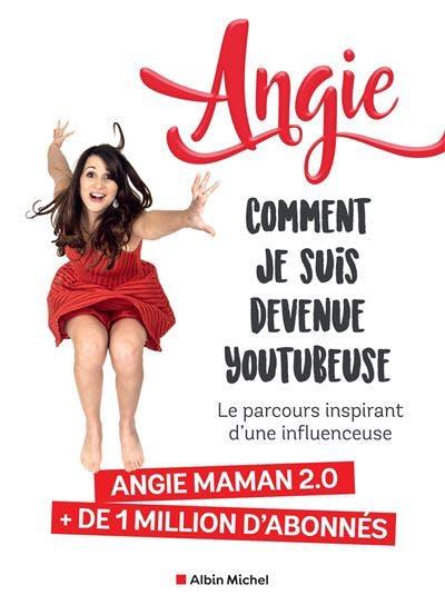 livre Angie youtubeuse