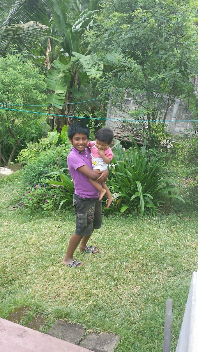 enfants sri-lankais