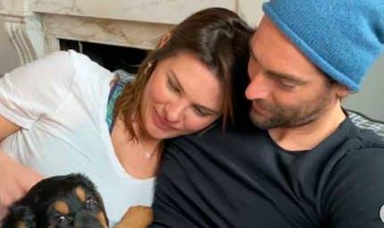 Camille Lacourt bientôt papa : la touchante réaction de sa fille en apprenant le sexe du bébé