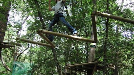 Parc accrobranche Le Vert en l'Air