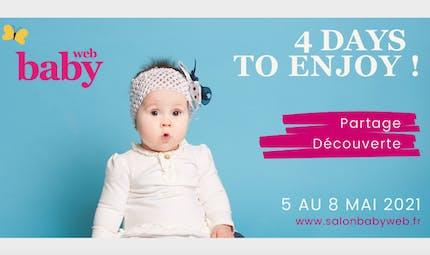 Salon Baby web : du 5 au 8 mai, découvrez toutes les nouveautés pour bébé !