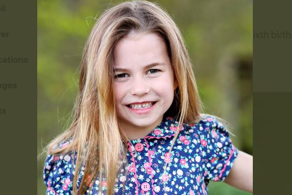 """La princesse Charlotte a 6 ans : déjà une vraie """"pré-ado"""" !"""
