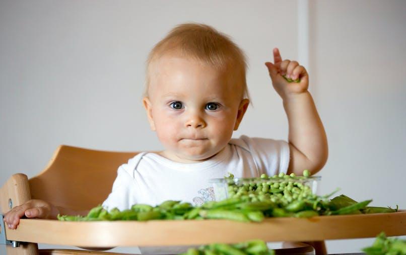 Petits pois : pourquoi c'est bon pour les enfants