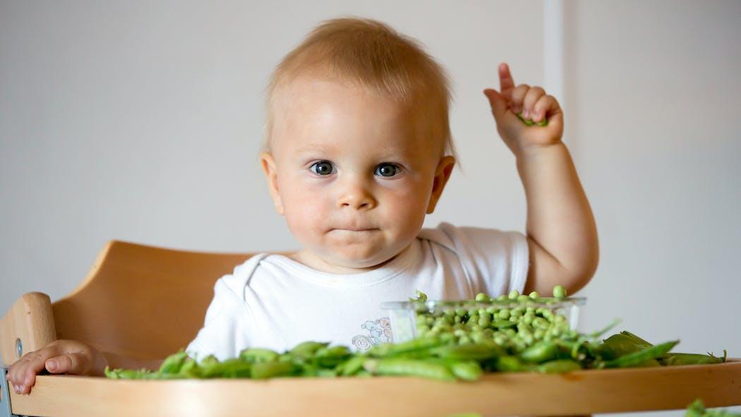 Petits pois : pourquoi c'est bon pour les enfants ?