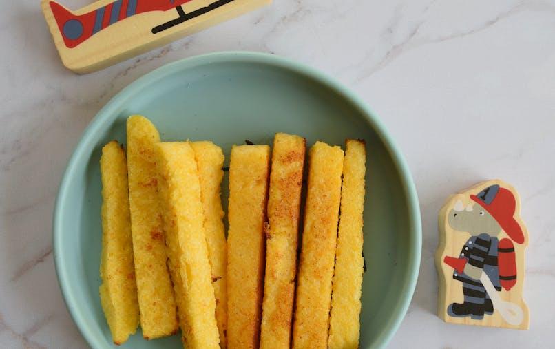 Recettes DME : frites de polenta