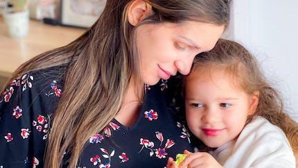 Anniversaire : Luna, la fille de Julia Paredes, émue par des photos à l'occasion de son anniversaire