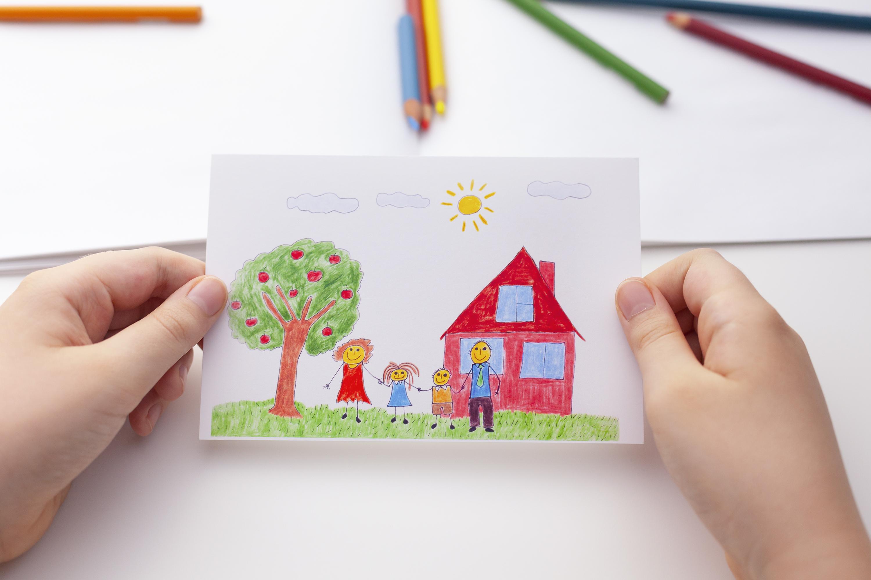 Comment décrypter les dessins de mon enfant ?