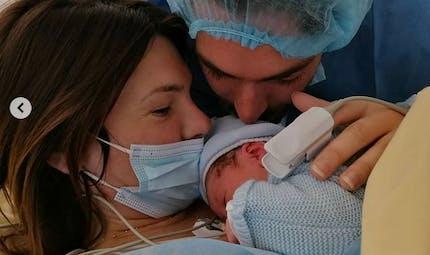 Camille Lacourt et Alice Detollenaere parents après un accouchement difficile : découvrez le joli prénom de bébé