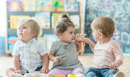 Accueil en crèche : il améliore le développement du langage chez bébé