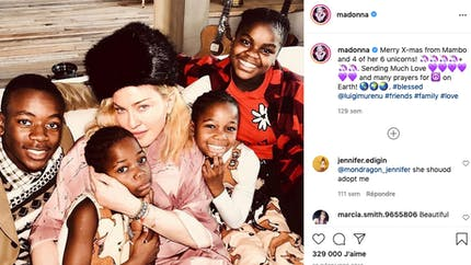 Madonna, Laeticia Hallyday, Sharon Stone... ces stars qui ont choisi d'adopter