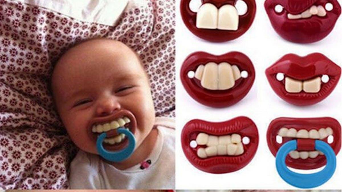 objets bébé insolites