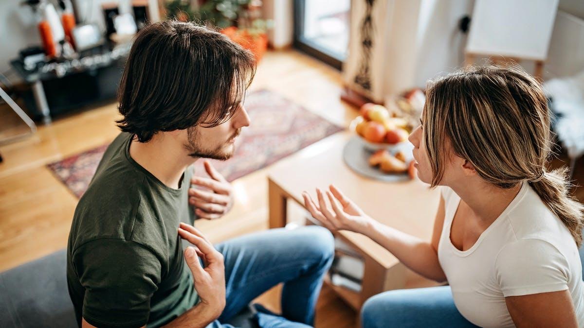 couple et dispute
