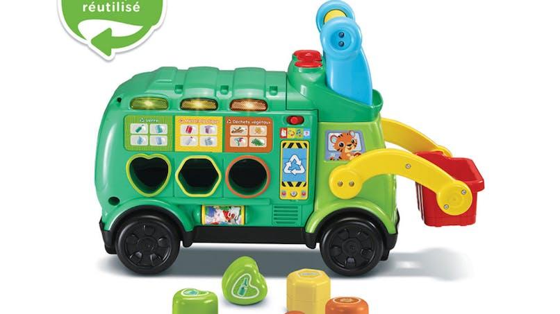 Maxi-camion poubelle Recyclo'formes